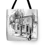 Walt Whitman (1819-1892) Tote Bag