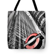 Canary Wharf London Tote Bag
