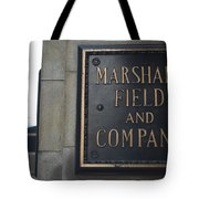 Marshall Field's Store Tote Bag