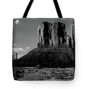 Rock Formations On A Landscape Tote Bag