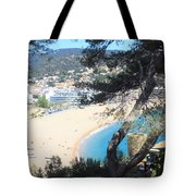 Tossa De Mar Costa Brava Tote Bag