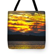 333 Marine Sunrise Tote Bag