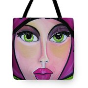 Pikotine Art Tote Bag