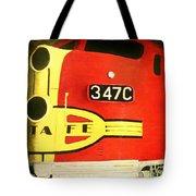 347 C  Up Close Tote Bag