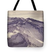 3.478 Meters Aerial Retro Tote Bag