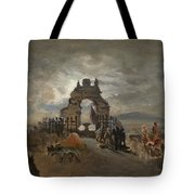 Over The Ramparts We Watch Tote Bag