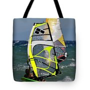 Windsurfing Tote Bag