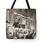 Woodrow Wilson (1856-1924) Tote Bag