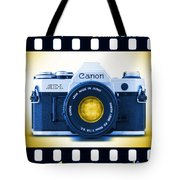 35mm Blues Canon Ae-1 Tote Bag
