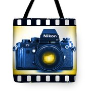 35mm Blues Nikon F-3hp Tote Bag
