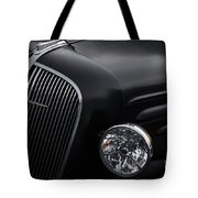36 Black Tote Bag