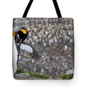 King Penguin Tote Bag