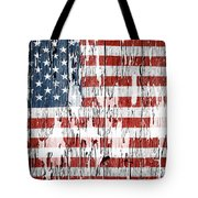 American Flag 49 Tote Bag