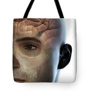 Human Brain Tote Bag