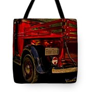 37 Ranch Truck Tote Bag