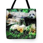3722-panda -  Plein Air 1 Sl Tote Bag