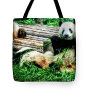 3722-panda -  Watercolor 1 Tote Bag
