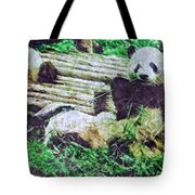 3722-panda -  Watercolor 2 Sl Tote Bag