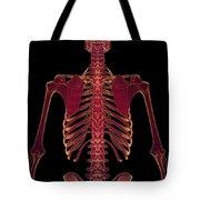 Bones Of The Upper Body Tote Bag