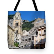 Views From The Amalfi Coast In Italy Tote Bag