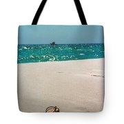 #384 33a Sandals On The Beach - Destin Florida Tote Bag