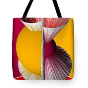 3d Abstract 16 Tote Bag by Angelina Vick
