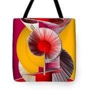 3d Abstract 18 Tote Bag by Angelina Vick
