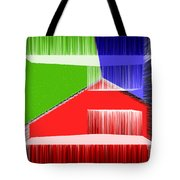 3d Abstract 3 Tote Bag by Angelina Vick