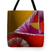 3d Abstract 6 Tote Bag by Angelina Vick