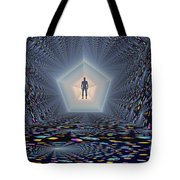 3d Concept Of How Mankind Will Use Tote Bag