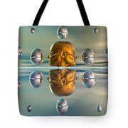 3d Concept Showing The Advancement Tote Bag