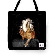 3d Ct Of Normal Heart Tote Bag