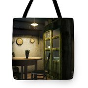 3d Dining Table Room Tote Bag