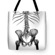 3d Skeletal Reconstruction Tote Bag