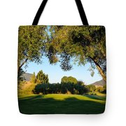 3rd Green At Quilchena  Tote Bag