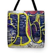 3t Graffiti Tote Bag