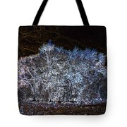 Harsh Winters Forecast Tote Bag