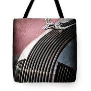 1935 Pontiac Sedan Hood Ornament Tote Bag