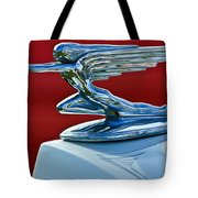 1936 Packard Hood Ornament Tote Bag
