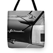 1948 Pontiac Streamliner Woodie Station Wagon Emblem Tote Bag