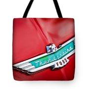 1956 Ford Thunderbird Emblem Tote Bag