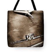 1956 Mercury Monterey Hood Ornament - Emblem Tote Bag