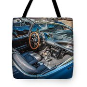 1959 Chevy Corvette Convertible Painted  Tote Bag