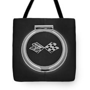 1967 Chevrolet Corvette Emblem Tote Bag