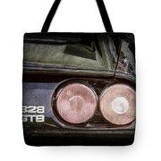 1989 Ferrari 328gtb Taillight Emblem Tote Bag