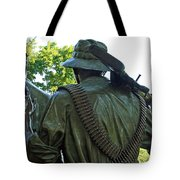 A Soldier's Hand Tote Bag