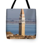 Aerial View Of Venice Tote Bag