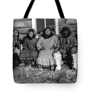 Alaska Eskimo Family Tote Bag