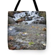 Alaskan Waterfall Tote Bag