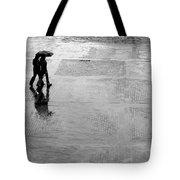 Alone In The Rain Tote Bag